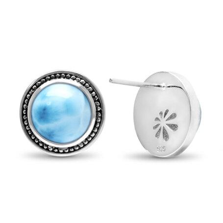 marahlago larimar Stud Larimar Earrings jewelry