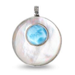 marahlago round Athena Necklace