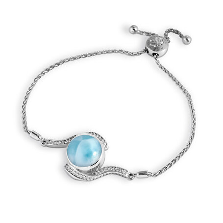 marahlago larimar Adella Bolo Bracelet jewelry