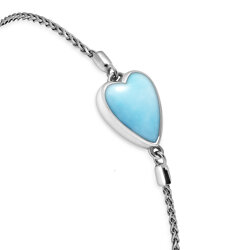 marahlago other Bolo Heart Larimar Bracelet