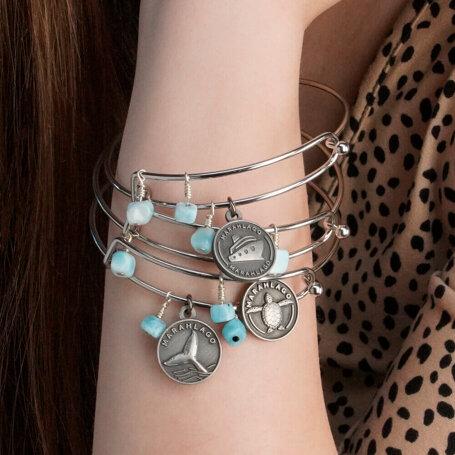 marahlago larimar Tropical Escape Bracelets jewelry