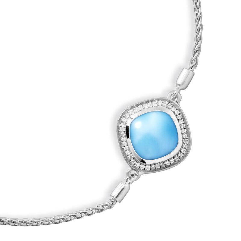 marahlago larimar Radiance Cushion Larimar Bracelet jewelry