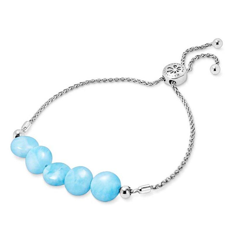 Marahlago Tidal Larimar Bolo Bracelet Jewelry