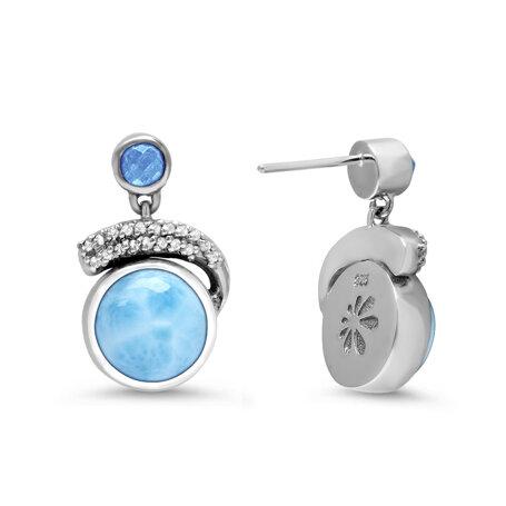 marahlago larimar Como Larimar Earrings jewelry