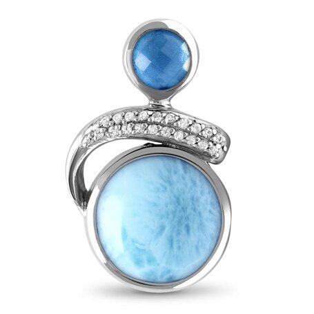 marahlago larimar Como Larimar Necklace jewelry