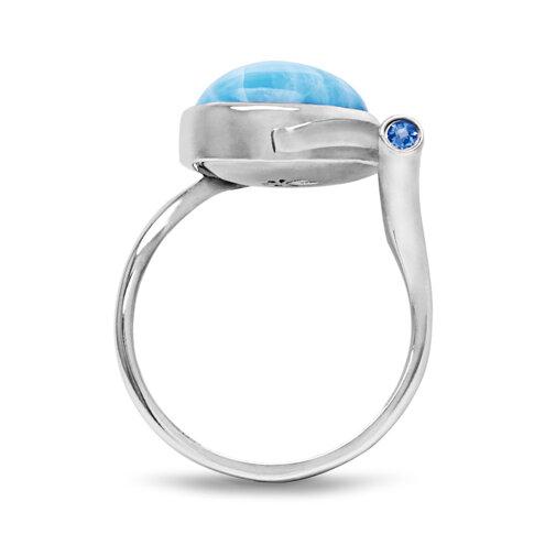 Como Larimar Ring