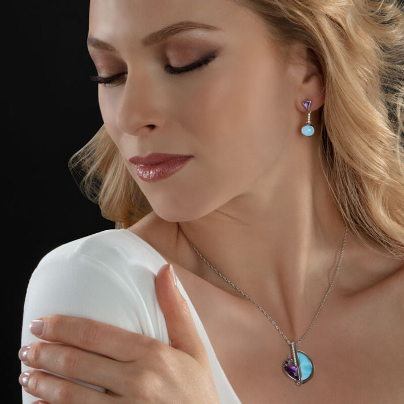 marahlago larimar Cove Larimar Necklace jewelry