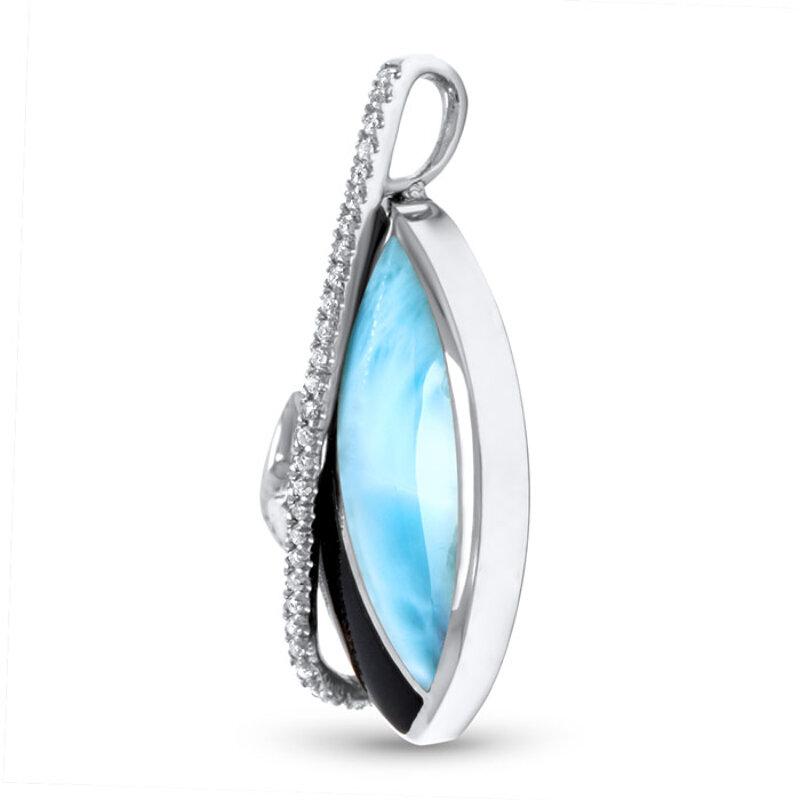 marahlago larimar Dakota Larimar Necklace jewelry