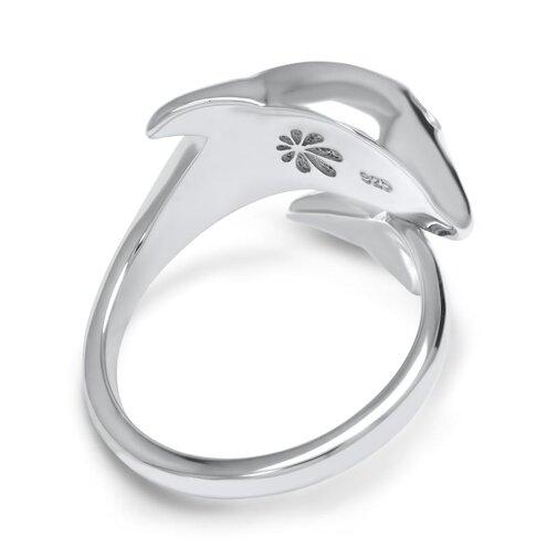 Dolphin Larimar Ring