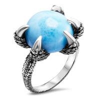 marahlago Dragon Larimar Ring