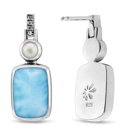 marahlago larimar Mirage Larimar Earrings jewelry