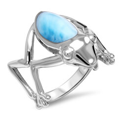 marahlago other Frog Larimar Ring