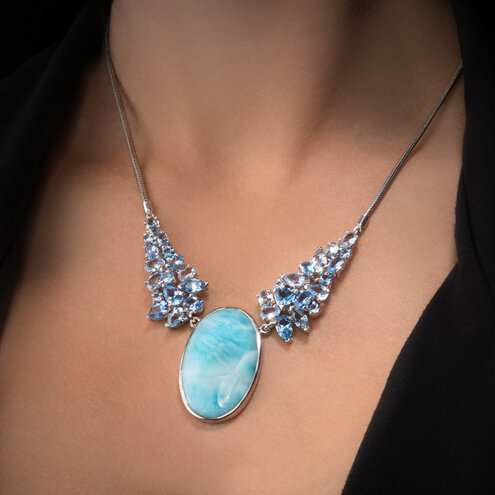 Grace Larimar Necklace