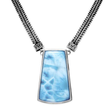 marahlago larimar Hanna Larimar Necklace jewelry