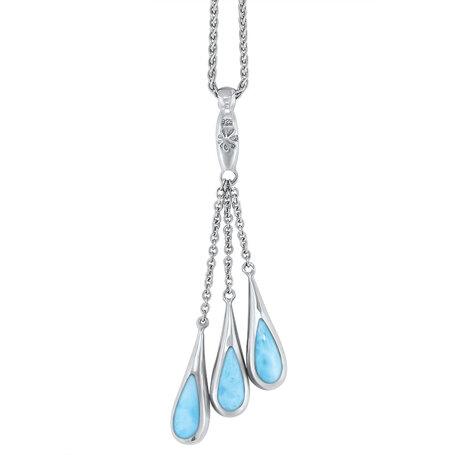 marahlago larimar Indra Larimar Necklace jewelry