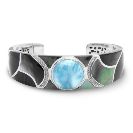 marahlago larimar Laguna Cuff jewelry