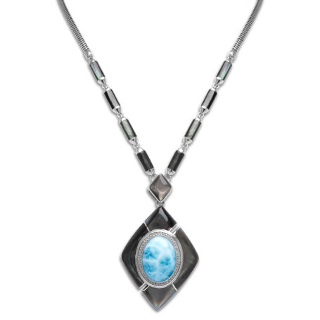 marahlago larimar Laguna Lg. Necklace jewelry