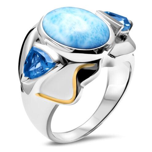 Lena Larimar Ring