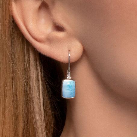 marahlago larimar Maris Larimar Earrings jewelry