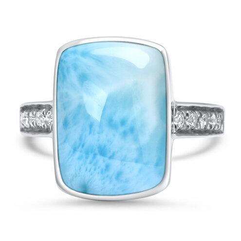 Maris Larimar Ring