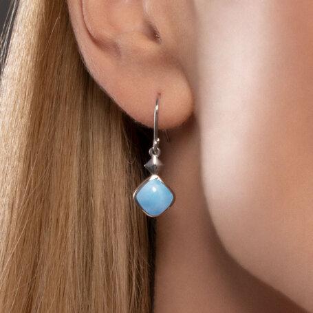 marahlago larimar Maya Larimar Earrings jewelry