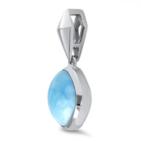 marahlago larimar Maya Pendant jewelry