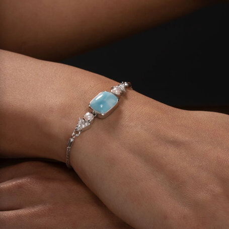 marahlago larimar Mirage Larimar Bracelet jewelry