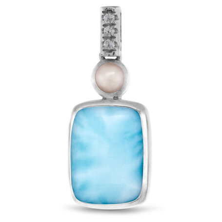 marahlago larimar Mirage Pendant jewelry