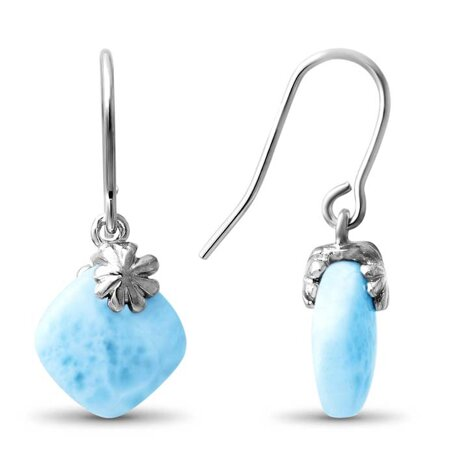 marahlago larimar Abril Larimar Earrings jewelry