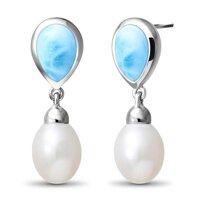 marahlago Alisa Larimar Earrings