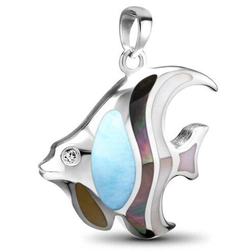 Angelfish Larimar Necklace
