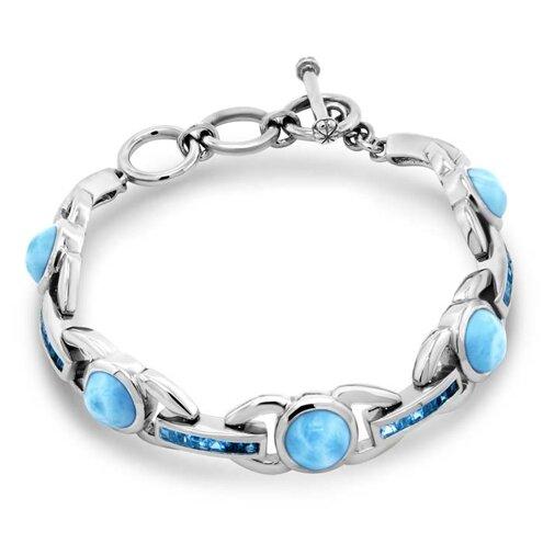 Aqua Larimar Bracelet