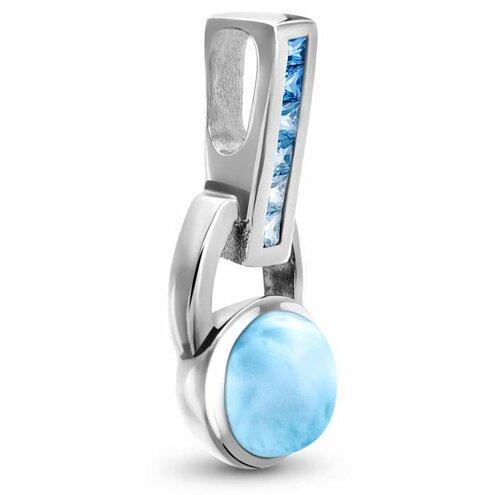 Aqua Larimar Necklace