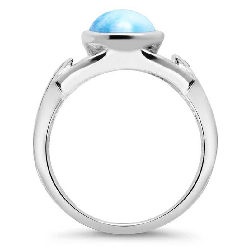 marahlago larimar Aqua Larimar Ring jewelry