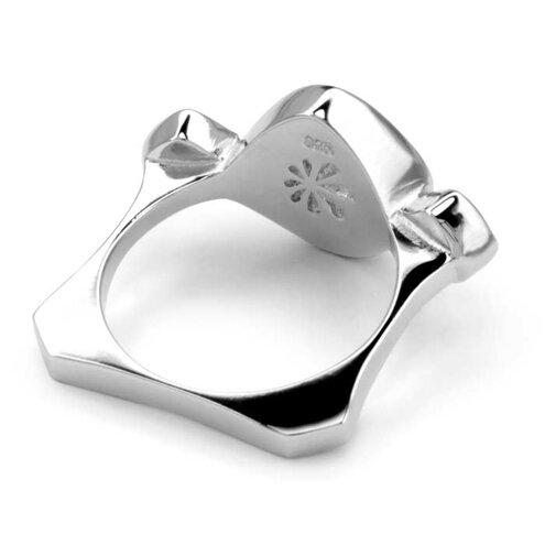 Atlantic Cushion Larimar Ring