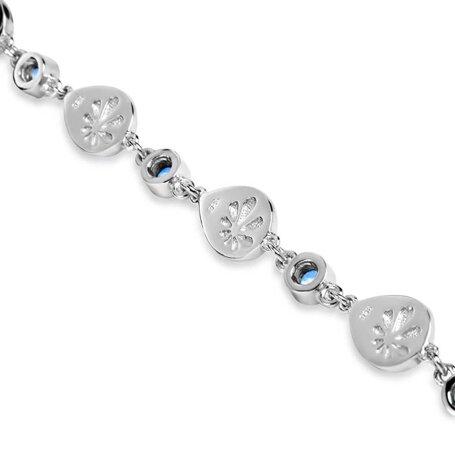 marahlago larimar Atlantic Pear Larimar Bracelet jewelry