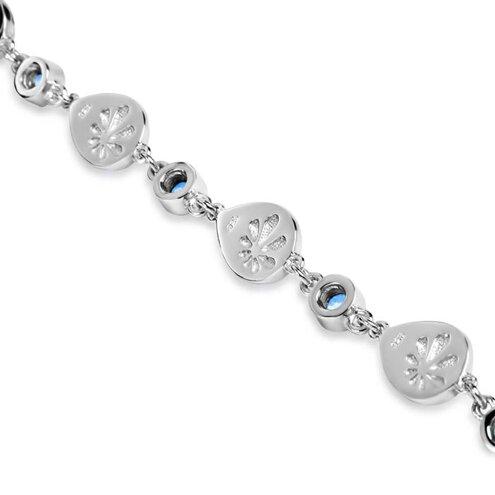 Atlantic Pear Larimar Bracelet