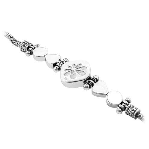 Azure Cushion Larimar Bracelet
