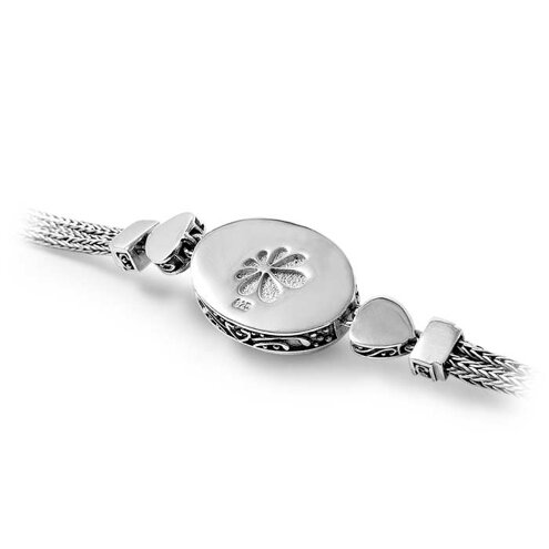 Azure Pear Larimar Bracelet