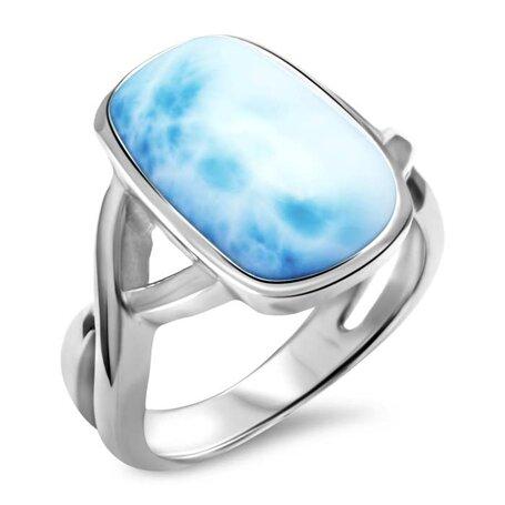 marahlago larimar Brie Larimar Ring jewelry