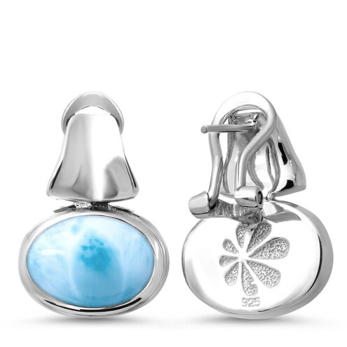 Caressa Larimar Earrings