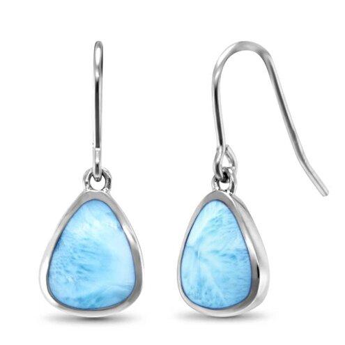 Cheyenne Larimar Earrings