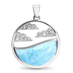 marahlago other Cloud Larimar Necklace
