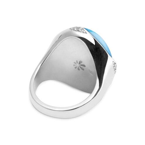 Cocktail Larimar Ring