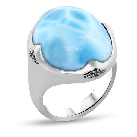 marahlago larimar Cocktail Larimar Ring jewelry