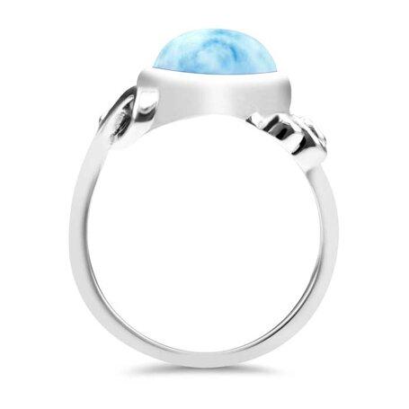 marahlago larimar Constellation Larimar Ring jewelry