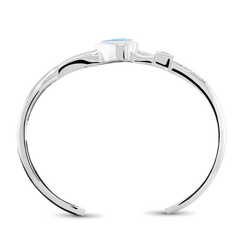 marahlago larimar Curva Larimar Bracelet jewelry
