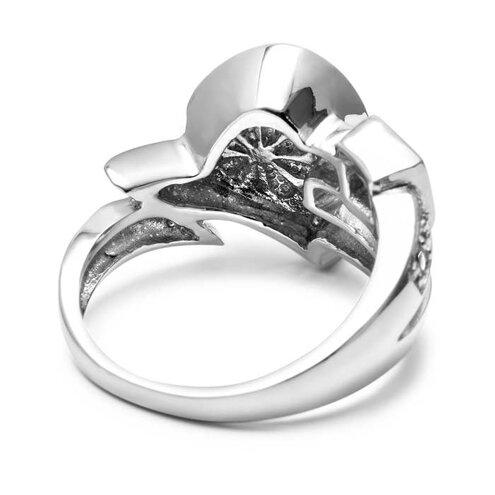 Curva Larimar Ring