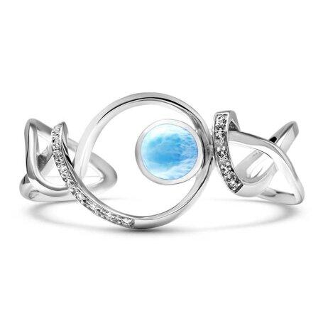 marahlago larimar Dante Larimar Bracelet jewelry