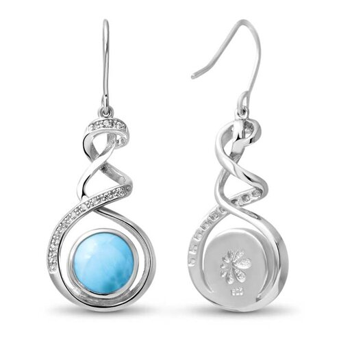 Dante Larimar Earrings